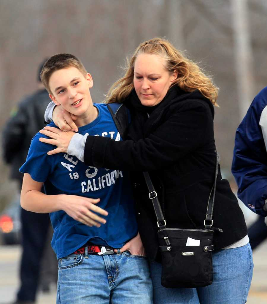 School Shooting Europe: News Of The World In Photos: Midwest School Slaying