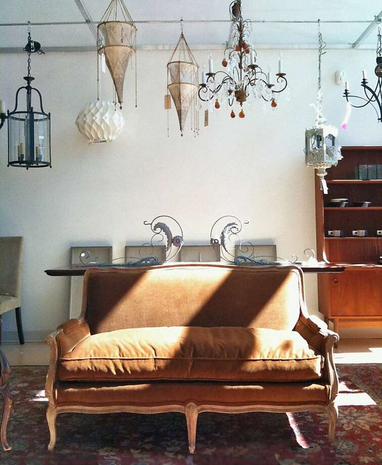 Change the entire atmosphere of a familiar room by changing out the lighting fixtures. Photo: Leftovers