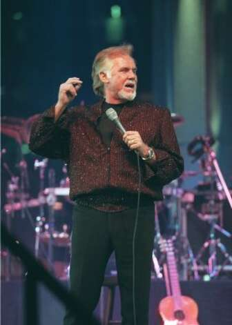 Kenny Rogers performed at the Houston Livestock Show and Rodeo in 1978, 1980, '88, '89, '99, 2000, and 2002. (James Nielsen / Special to the Chronicle)