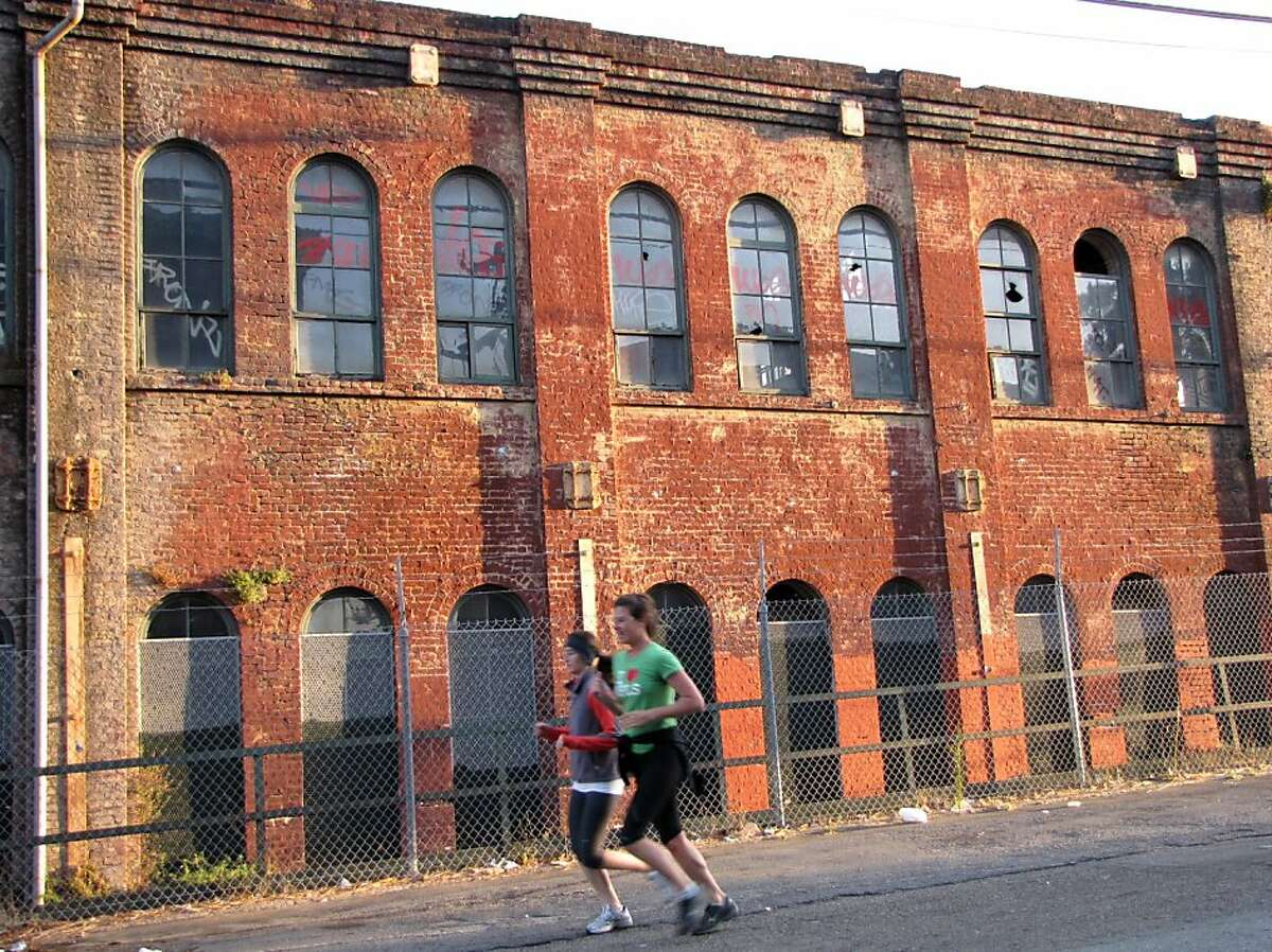 The Union Iron Works Machine Shop is the oldest remaining structure in the Pier 70 area.