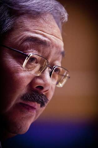 San Francisco's Mayor Ed Lee talks to the Chronicle Editorial Board on Monday, Jan. 9, 2012 in San Francisco, Calif. Photo: Russell Yip, The Chronicle