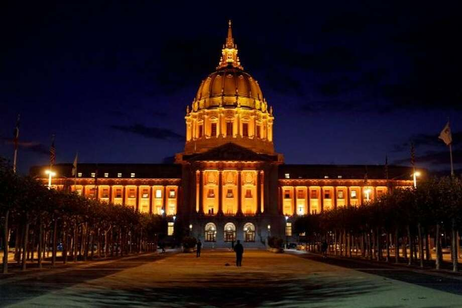 A file photograph of San Francisco's City Hall.