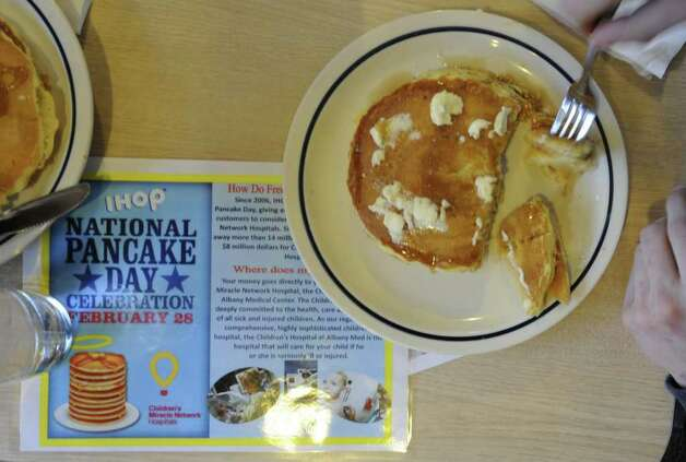 Free pancakes as IHOP to raise funds for charity - Times Union
