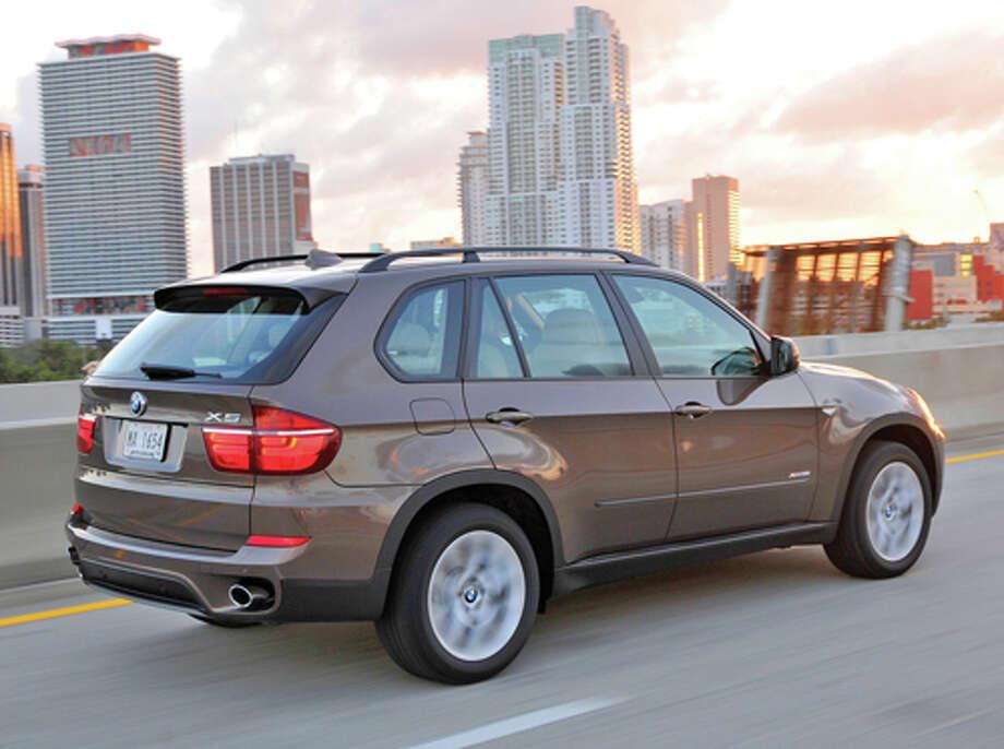 2012 BMW X5 xDrive 35d (photo courtesy BMW)