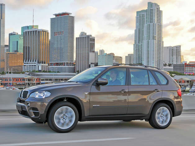 2012 BMW X5 xDrive 35d (photo courtesy BMW)