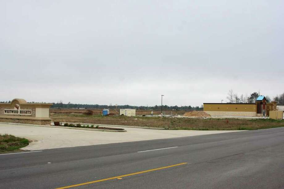This vacant lot along Hwy. 69 in Lumberton may become the site of a new Emergency Room. If plans go through, the facility could open for business in Spring, 2013. Photo: David Lisenby, HCN_Emergency