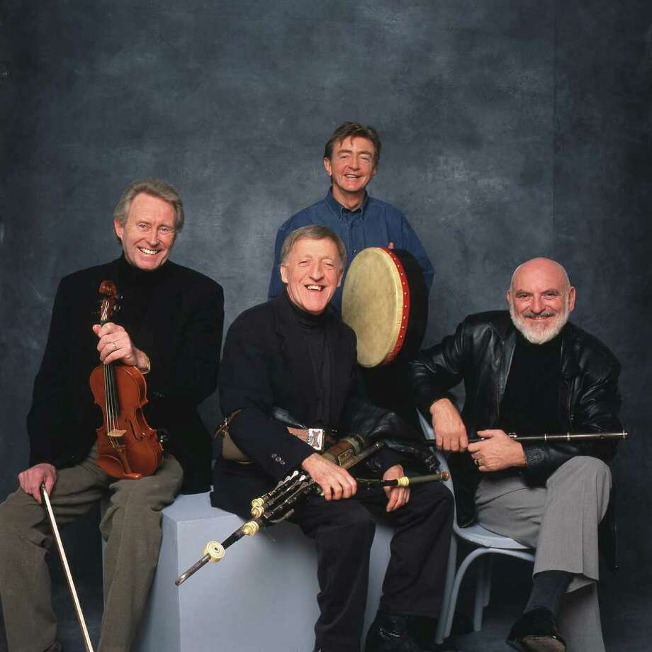 The Chieftains are Sean Keane, from left, Paddy Moloney, Kevin Conneff and Matt Molloy. Photo: Courtesy Barry McCall