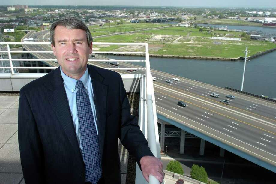 John P. (Jack) Barnes, President and Chief Executive Officer of People's United Bank, in Bridgeport, Conn. May 6th, 2010. Photo: Ned Gerard, ST / Connecticut Post