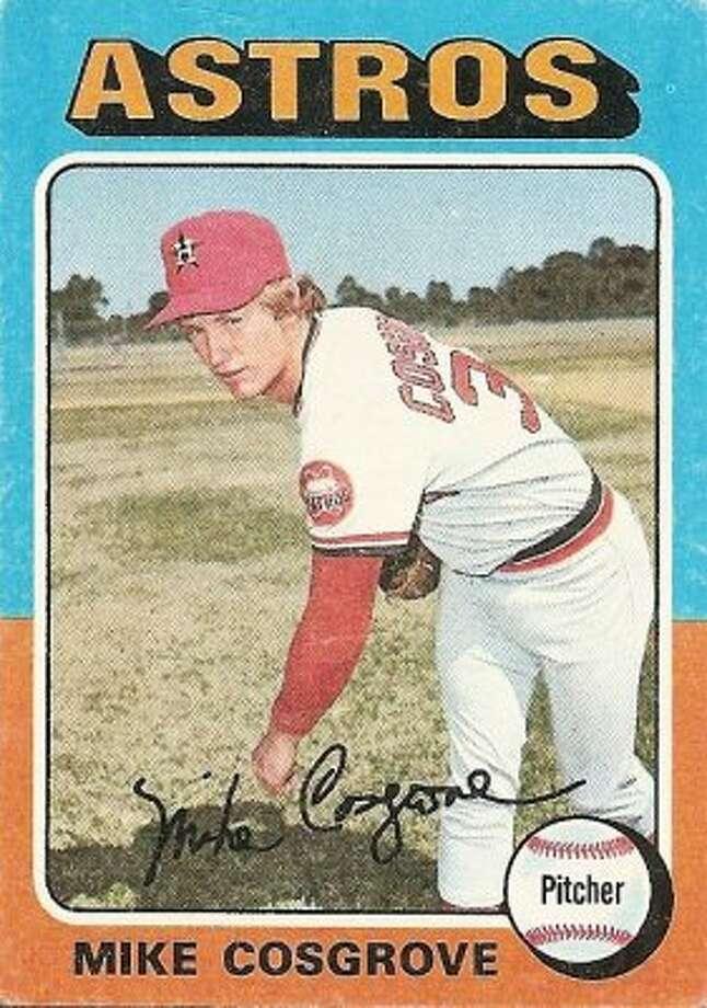 Mike Cosgrove, 1975:1-2, 3.03 ERA, 5-8 SV (62.5 percent), 71.1 IP, 62 H, 37 BB, 32 K, 112 ERA+