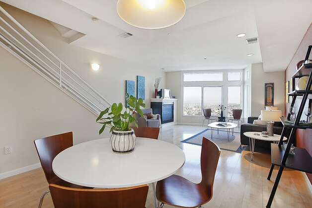 A look at the main living space from the kitchen. Photo: OpenHomesPhotography.com