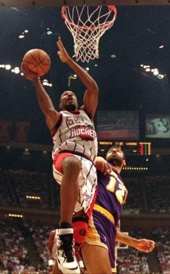 Houston Rockets champ Chucky Brown (1968) (AP)