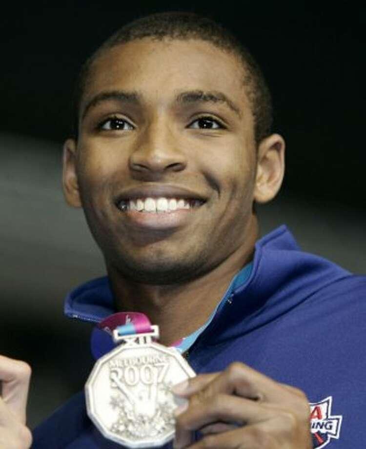Olympic swimmer Cullen Jones (1984)