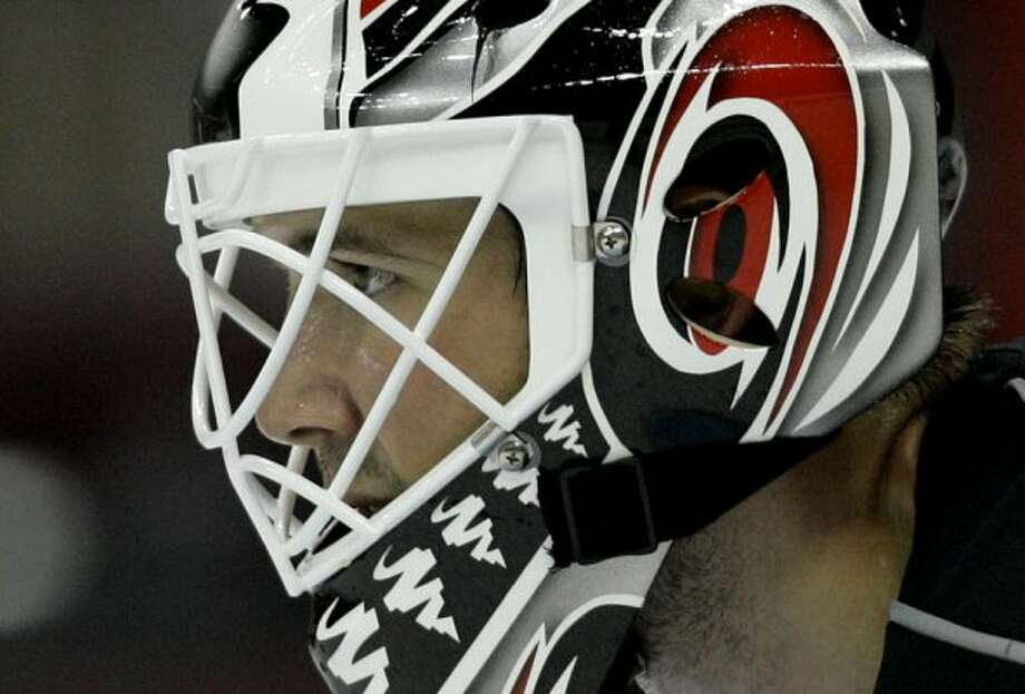 NHL goalie Cam Ward (1984)