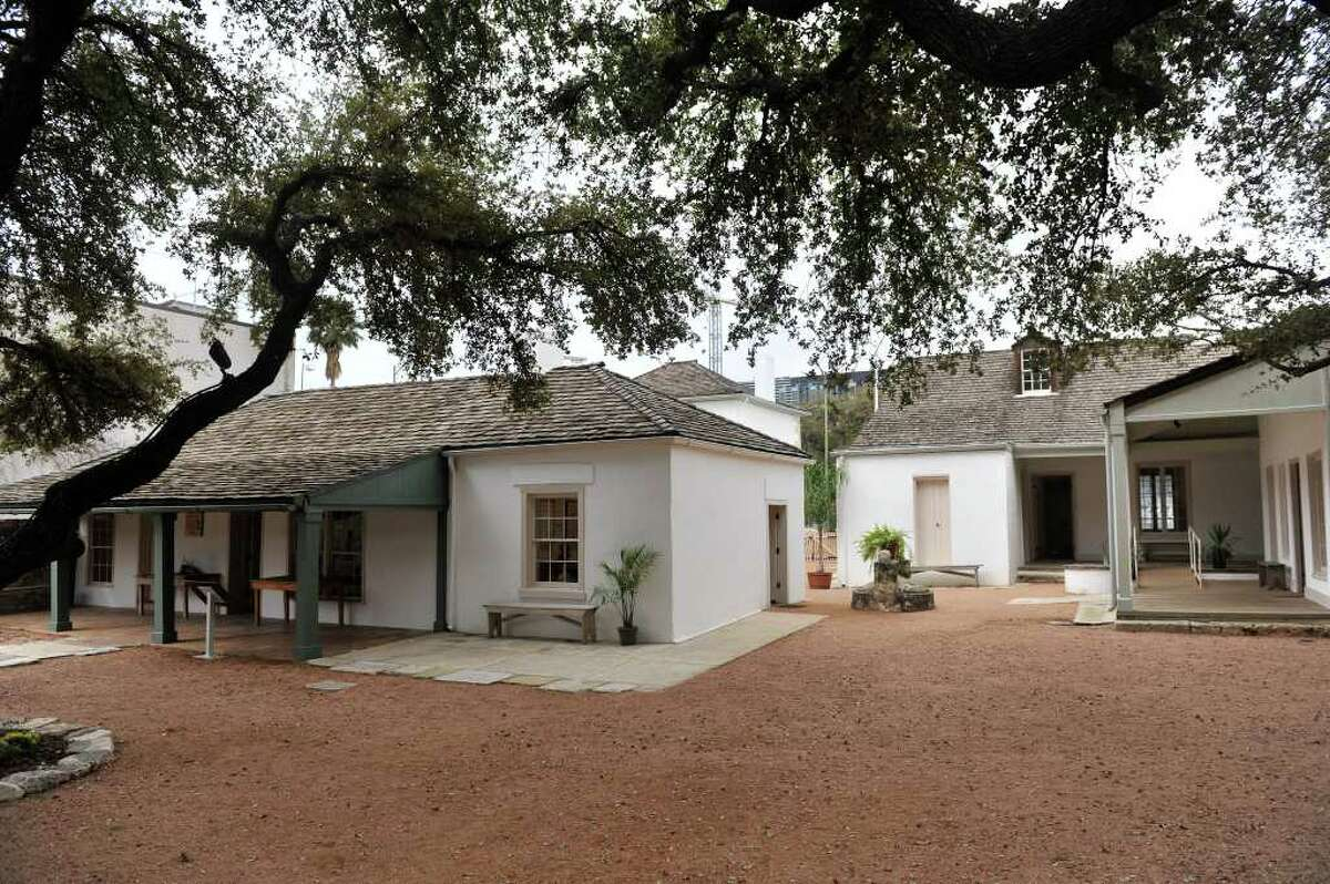 """The Casa Navarro State Historic site features """"modern interactive exhibits"""" after of the former home of Jose Antonio Navarro, a signer of the Texas Declaration of Independence."""