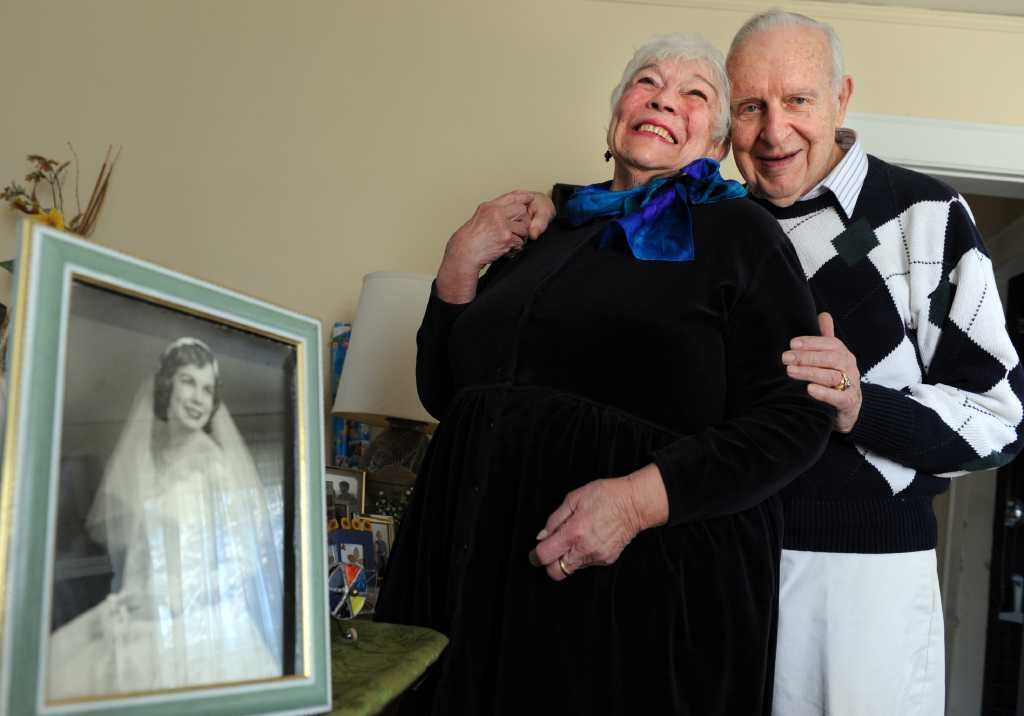 Leaping into romance: Couple celebrates 60th - or 15th