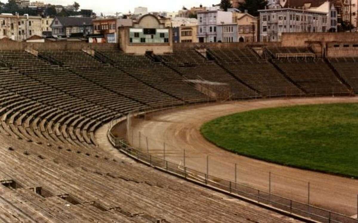 Kezar Stadium shortly before it was taken down.