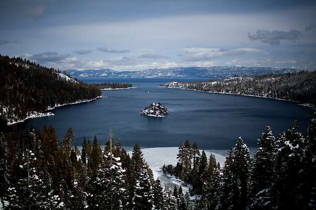 A view of Emerald Bay in Lake Tahoe, Calif., February 28, 2012. Photo: Max Whittaker/Prime, Special To The Chronicle