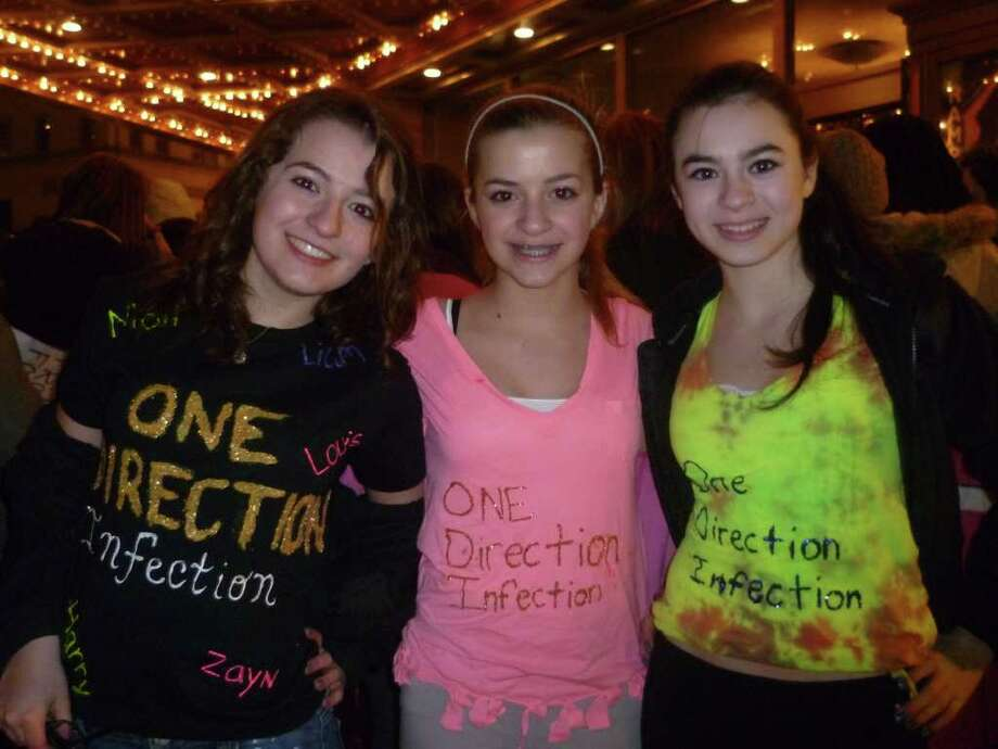 Were you Seen at the Big Time Rush and One Direction concert at the Palace Theatre in Albany on Tuesday, February 28, 2012? Photo: Kayleigh Huber