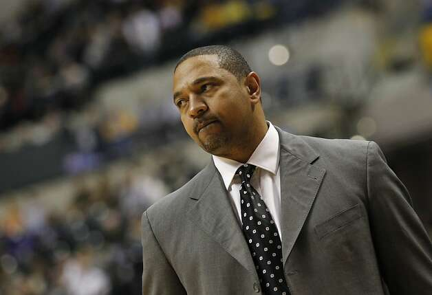 Golden State Warriors head coach Mark Jackson watches the action during the third quarter of their NBA basketball game in Indianapolis on Tuesday, Feb. 28, 2012. The Pacers beat the Warriors 102-78. Photo: Dave Martin, Associated Press