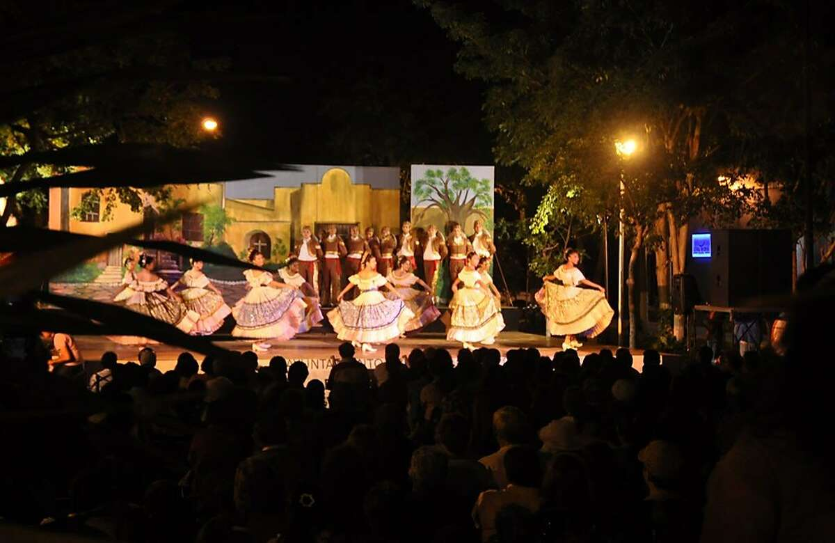 """Noche Mexicana, or the """"Mexican Night,"""" presents traditional Mexican music and dance performances, from amateurs and professionals alike"""