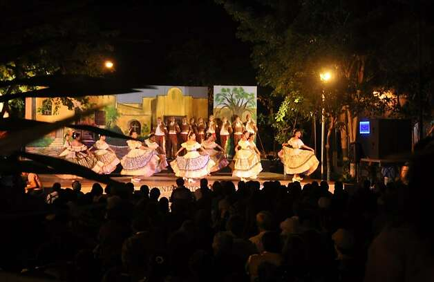 "Noche Mexicana, or the ""Mexican Night,"" presents traditional Mexican music and dance performances, from amateurs and professionals alike Photo: Christine Delsol, Special To SFGate"
