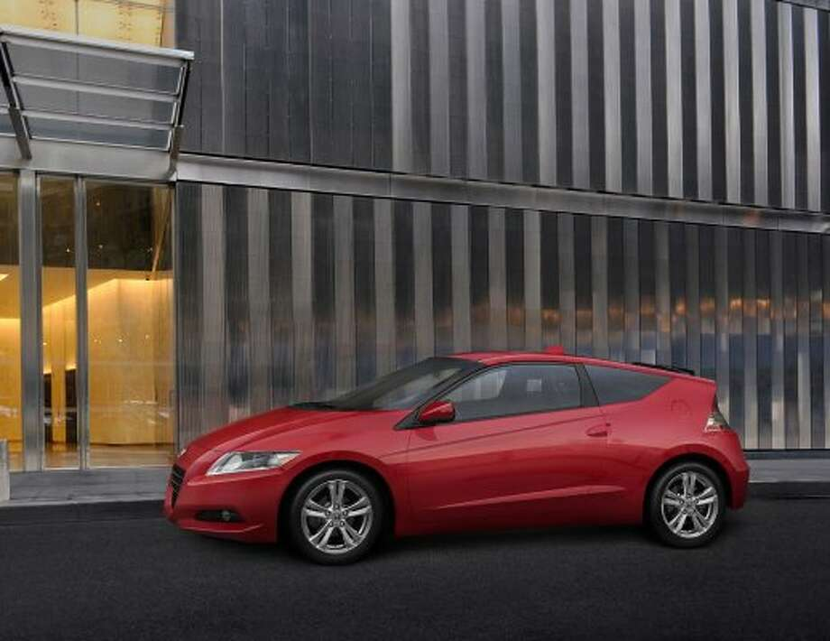 Honda CR-Z automatic/hybrid: 37 mpg combined, 35 city mpg, 39 higway mpg (Honda / Wieck)