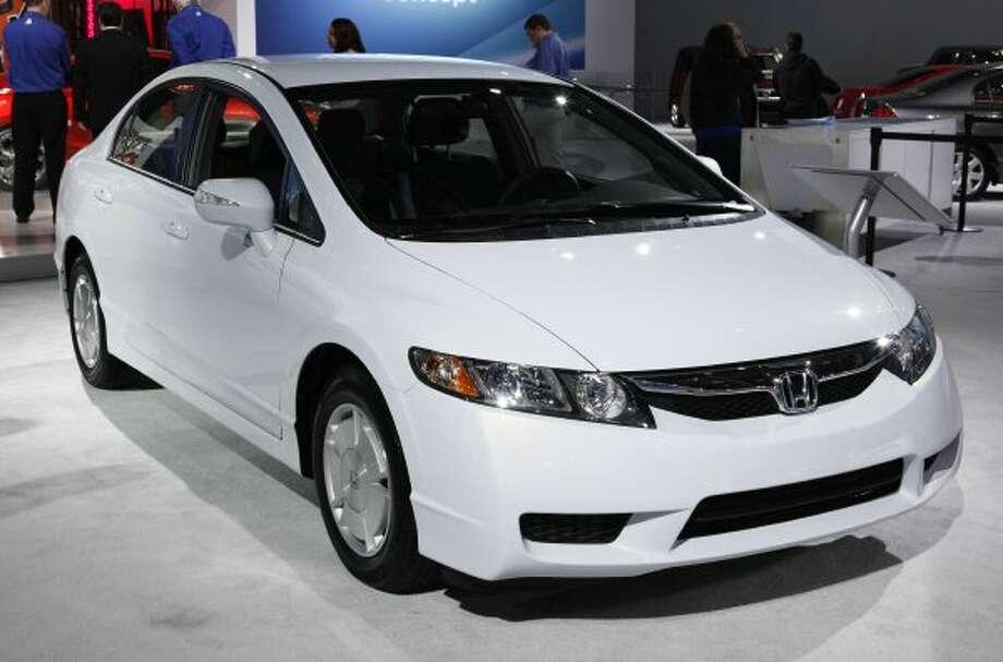 Honda Civic Hybrid: 44 mpg combined, 44 city mpg, 44 higway mpg (Paul Sancya / Associated Press)
