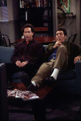 "Can't get enough: ""Seinfeld."" The characters from this ""show about nothing"" became so real, we feel like we were friends with them at one point.  Photo: Alice S. Hall / NBC"