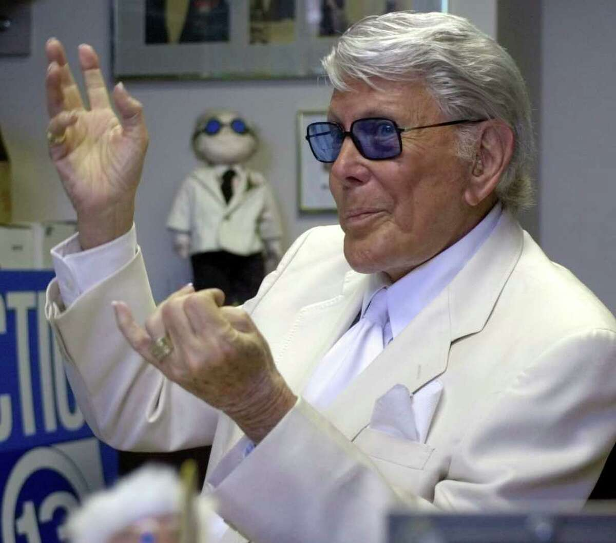 """When a Texas sheriff broke Marvin Zindler's ribs after he exposed a brothel Houston television reporter and personality Marvin Zindler had a run-in with former Fayette County Sheriff T.J. Flournoy in 1973, 18 months after his reporting exposed the infamous brothel in La Grange dubbed The Chicken Ranch. Reporter Larry L. King later wrote about the dispute for the Washington Post. """"The sheriff pulled the younger man from his car, flang him around a bit, ripped off his silver hairpiece and stomped it, and in general made the newsman feel unwelcome three broken ribs worth,"""" King wrote."""