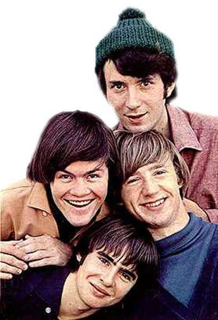 The Monkees included, clockwise from top, Michael Nesmith, Peter Tork, Davy Jones and Mickey Dolenz.