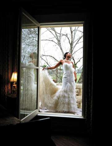 A look at what brides will be wearing in 2012. Photo: KEVIN GEIL / KEVIN GEIL