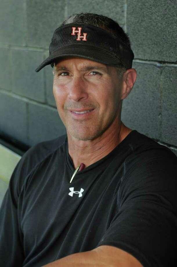 Huffman Hargrave head baseball coach Tom DeBerry Photo: Jerry Baker