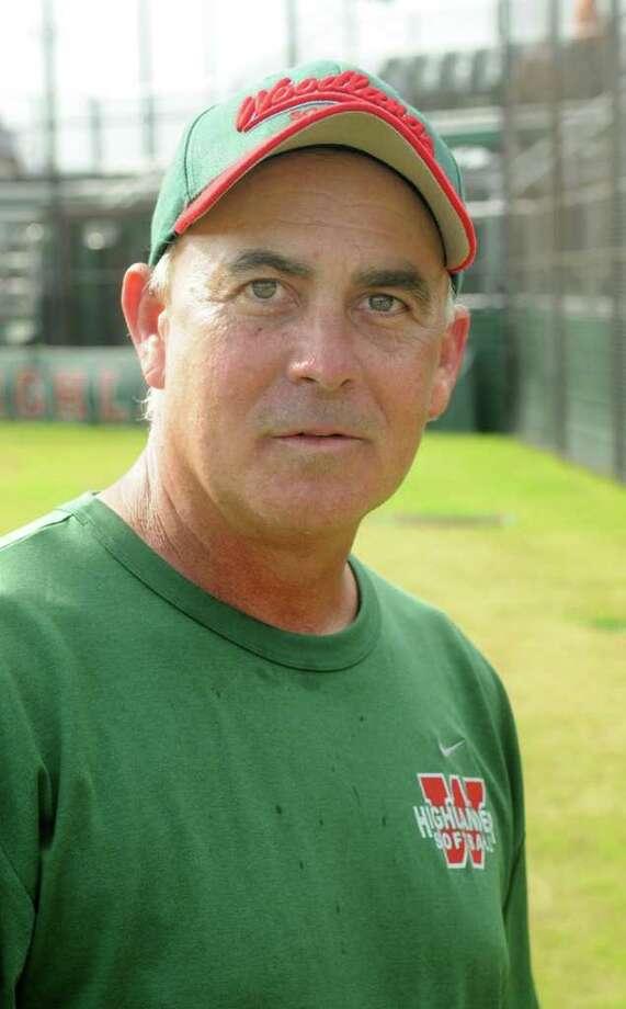 The Woodlands head softball coach Richard Jorgensen Photo: Jerry Baker