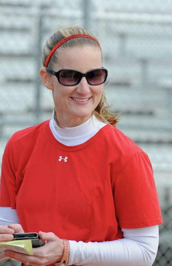 Clear Lake softball coach Kristy McCoy Photo: L. Scott Hainline / For The Chronicle