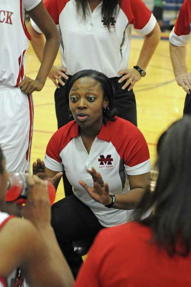 Manvel girls basketball coach Fleceia Comeaux Photo: L. Scott Hainline / For The Chronicle