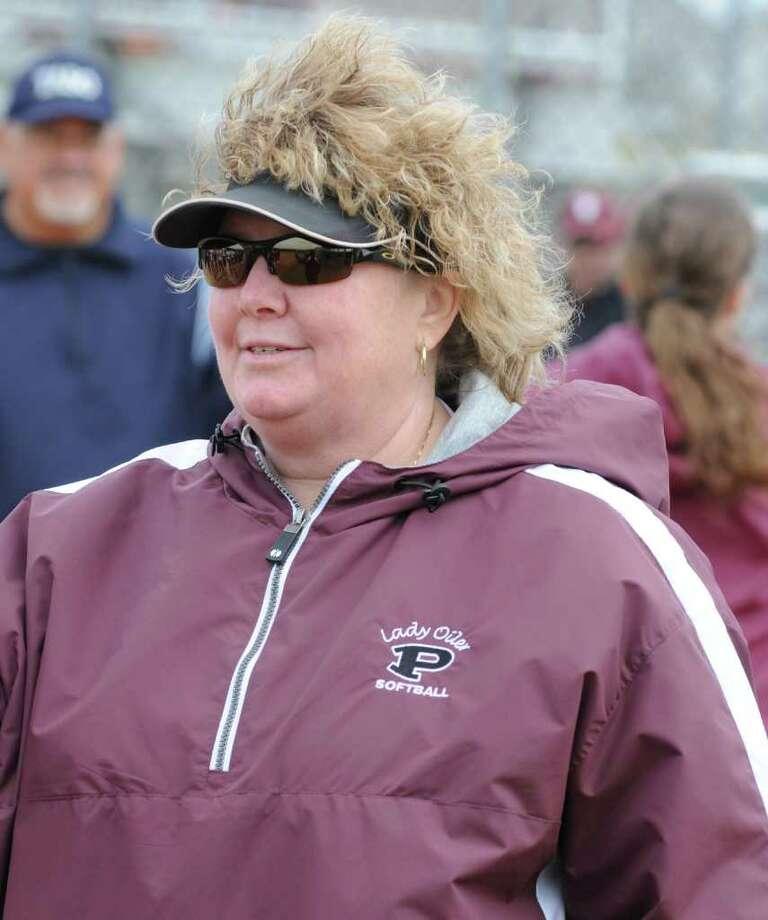 Pearland softball coach Laneigh Clark Photo: L. Scott Hainline / For The Chronicle