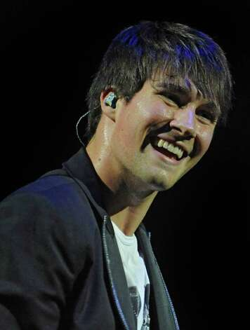 James Maslow of Big Time Rush performs to a sold out audience at the Palace Theatre Tuesday, Feb. 28, 2012 in Albany, N.Y.  (Lori Van Buren / Times Union) Photo: Lori Van Buren