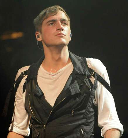 Kendall Schmidt of Big Time Rush performs to a sold out audience at the Palace Theatre Tuesday, Feb. 28, 2012 in Albany, N.Y.  (Lori Van Buren / Times Union) Photo: Lori Van Buren