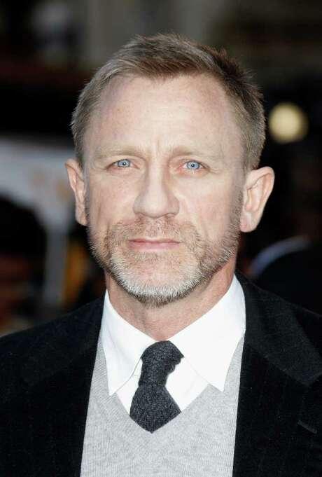 Actor Daniel Craig is 44. Photo: Associated Press / AP