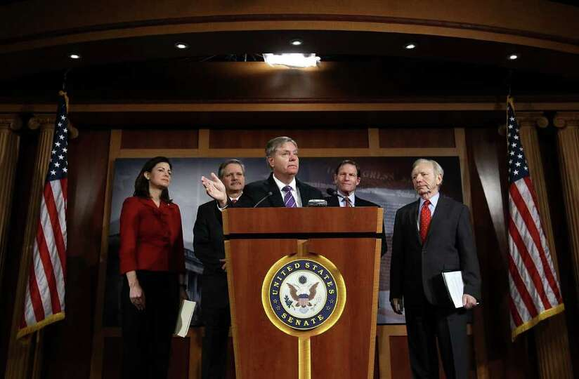 U.S. Sen. Kelly Ayotte (R-NH), U.S. Sen. John Hoeven (R-N.D.), U.S. Sen. Lindsey Graham (R-SC),  U.S