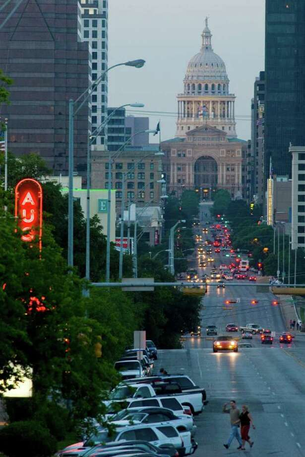The South Congress Avenue district is popular among Austin's artistic community.  Photo: Mark Matson / Freelance