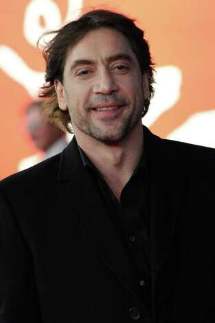 """No Country for Old Men"" actor Javier Bardem is afraid of his own face. ""Ugh, look at that nose,"" he said. ""Look at those eyes. Ugh, my tone of voice."" Poor Javier Bardem and his horrible, terrifying, 12-million-dollar face.  Photo: ANGELIKA WARMUTH / AFP"