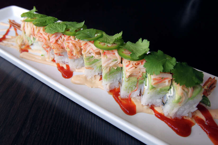 TASTE Latino Roll at Piranha Killer Sushi on February 28, 2012 Tom Reel/ San Antonio Express-News Photo: TOM REEL, San Antonio Express-News / TREEL@EXPRESS-NEWS.NET