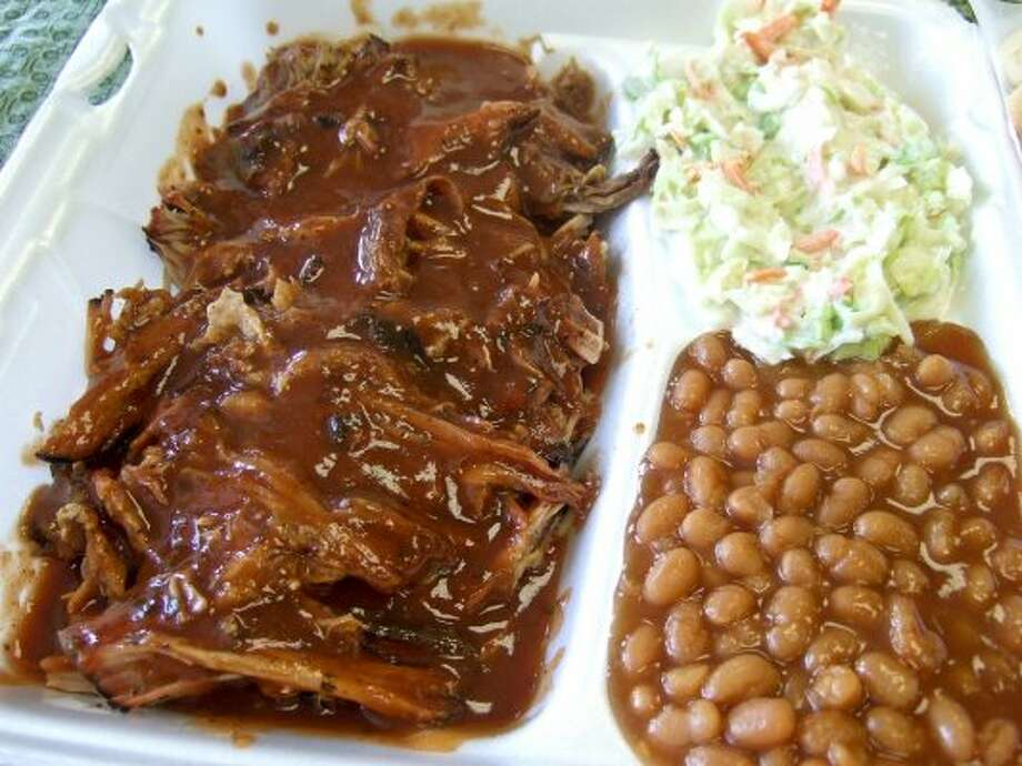 Southern-style pulled pork from Fainmous BBQ.