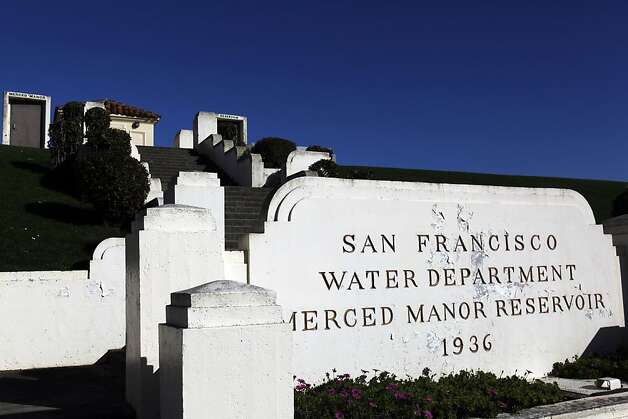 The Merced Manor Reservoir in the Sunset district of San Francisco, Calif., has been around for decades and has been used by residents for other activities for years. There are a number of different reservoirs inside San Francisco, Calif., and also a push to either provide additional uses for them or declare them surplus. Photo: Carlos Avila Gonzalez, The Chronicle