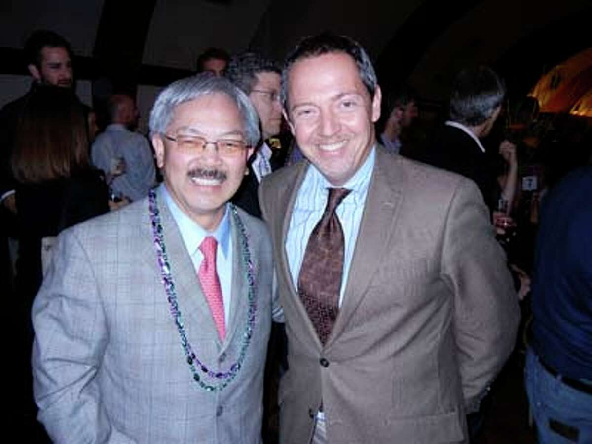 Mayor Ed Lee (left) and the city's H.O.P.E. Director Bevan Dufty (Catherine Bigelow)