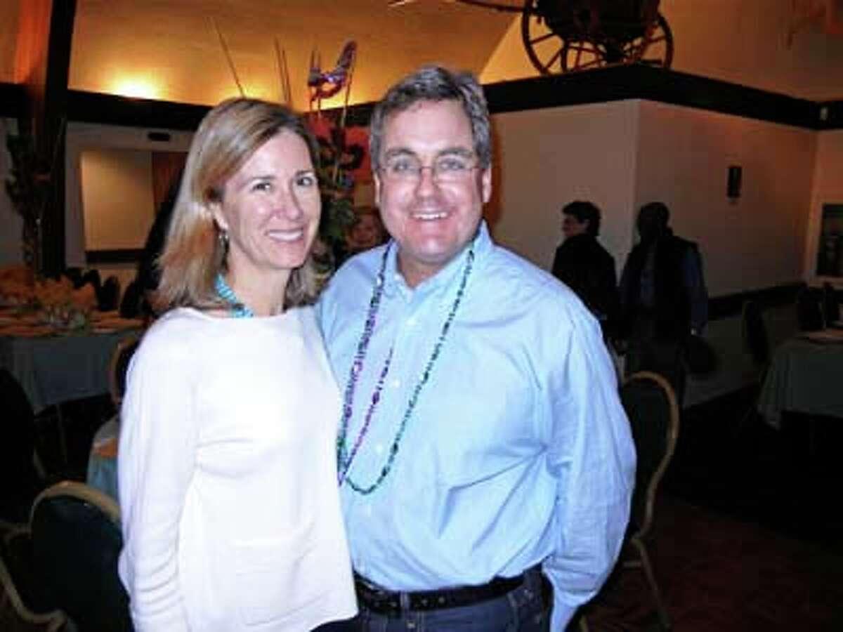 Anne Herrera and her husband, City Attorney Dennis Herrera (Catherine Bigelow)