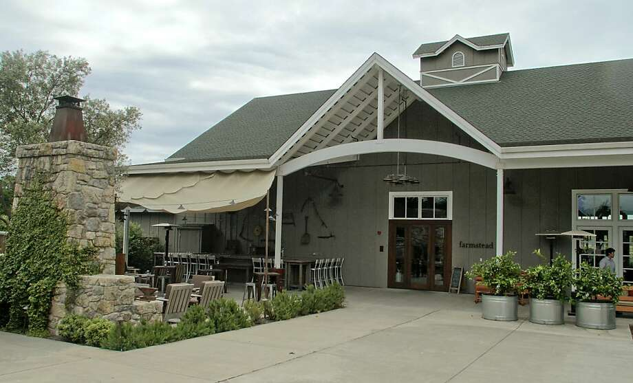 The exterior of the Farmstead restaurant in St. Helena, Calif., is seen on Saturday, May 28th, 2011. Photo: John Storey, Special To The Chronicle