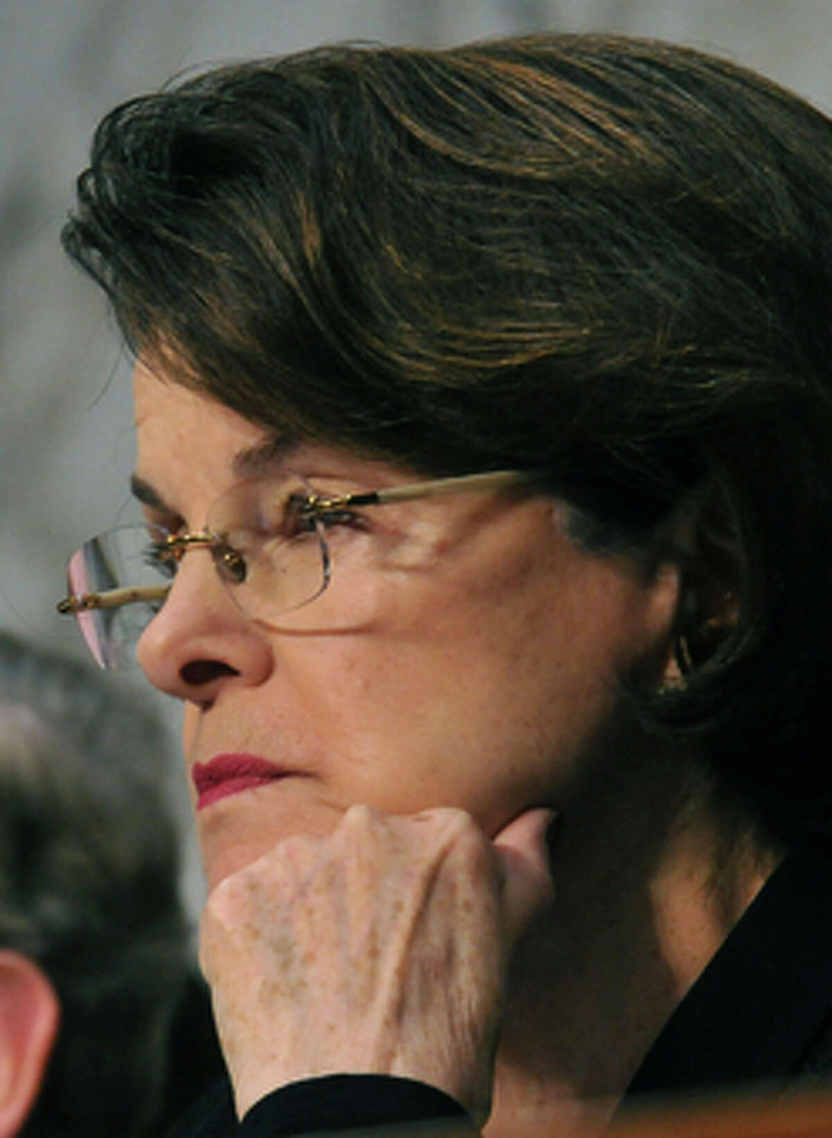 The US Senate Intelligence Committee Chairman Sen. Diane Feinstein,D-CA, holds a full committee hearing on