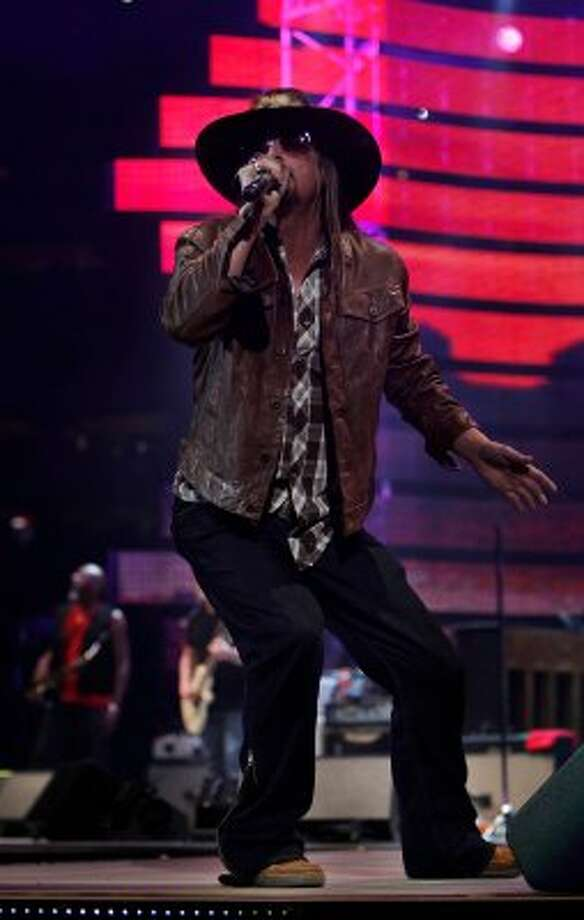 Kid Rock went from rap to rock, to rap rock to country.